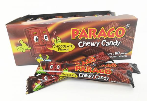 PARAGO Chewy Candy choco flvr.8g