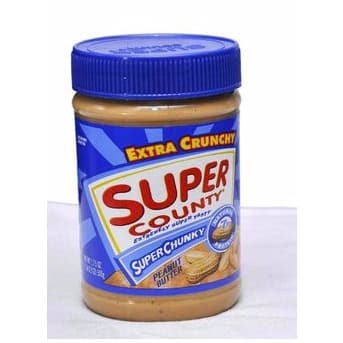 Super Country Creamy Peanut Butter.500g