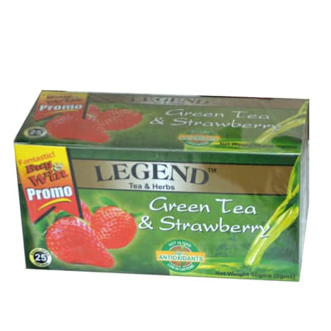 Legend Tea & Herbs Green Tea & Strawberry