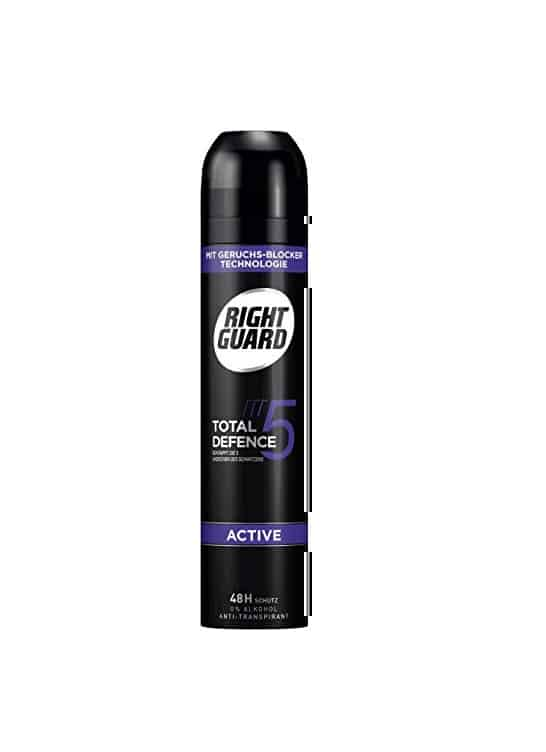 Right Guard Deodorant Total defence 5 Active