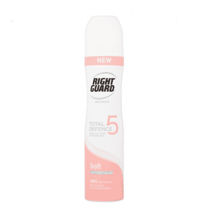 Right Guard Deodorant Total defence 5 Soft Skin