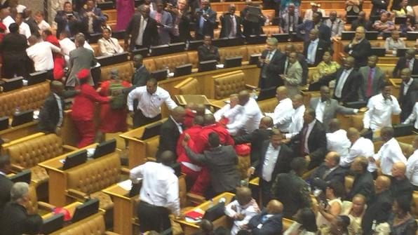 SONA2015: ejecting of eff from parliament sitting - pic5