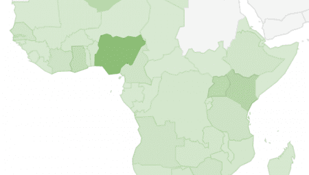Interactive Map: 2016 LinkedIn Stats for African Countries ...
