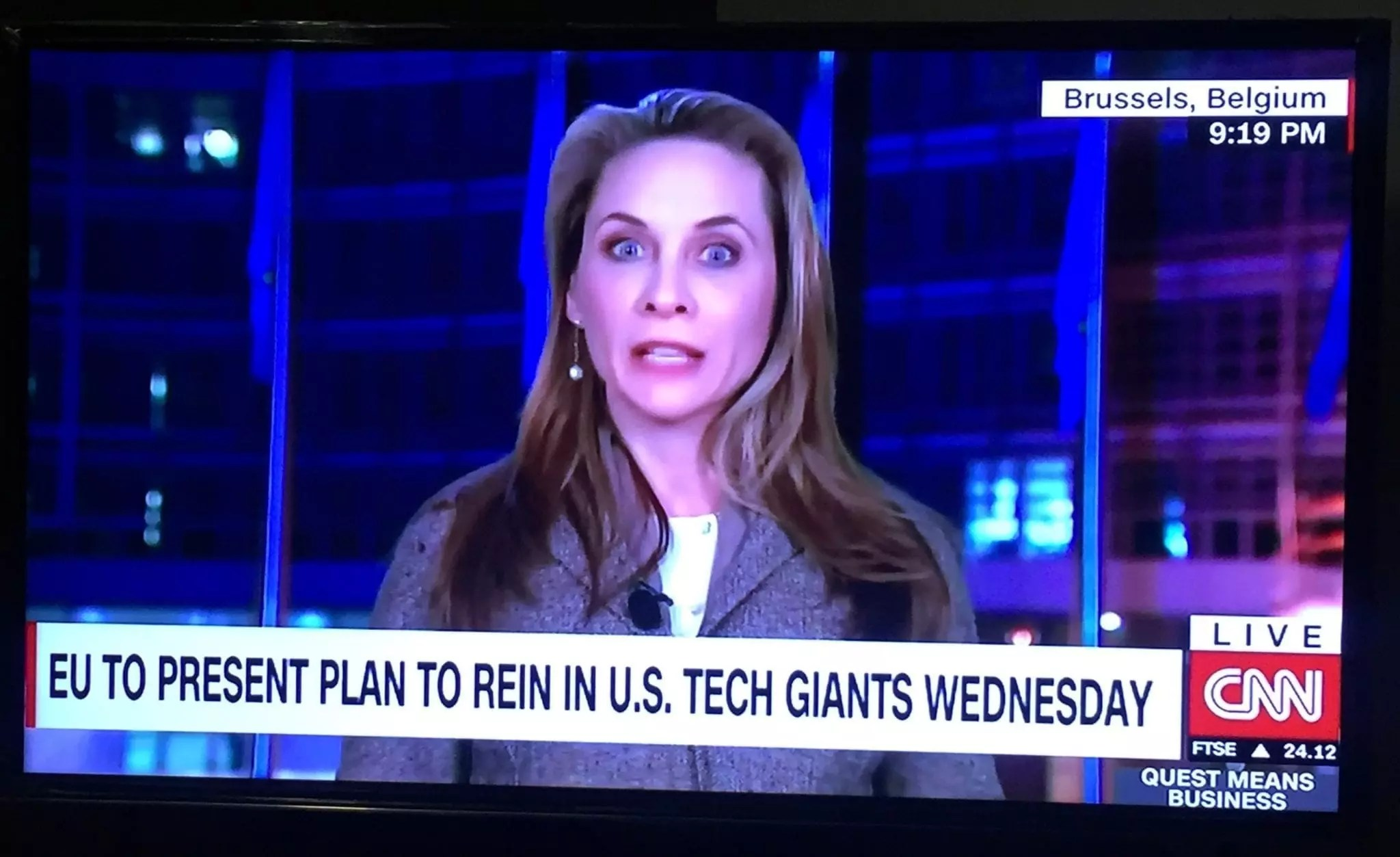 eNitiate | CNN | EU to Regulate | Big Tech Companies | 17 February 2020
