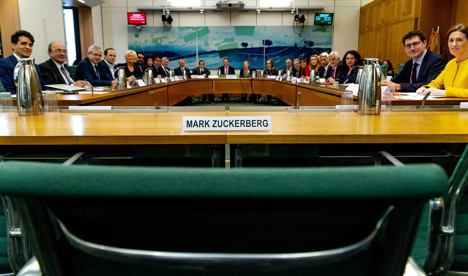 eNitiate   Politico Europe   Zuck's no-show at European Governments' Hearing on Facebook and Misinformation   27-11-2018