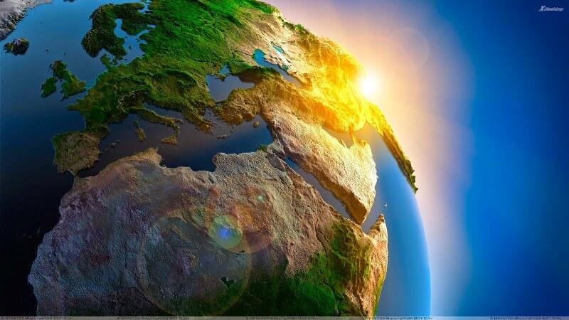 Bahkan air uap dan debu juga merupakan bagian dari. √ Struktur Lapisan Bumi Lengkap Dengan Gambar dan