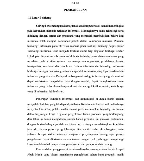 Contoh Proposal Skripsi