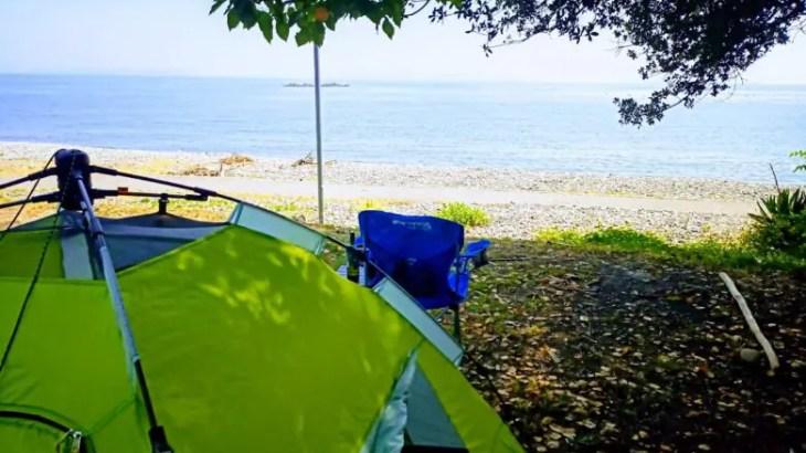 避暑!高原キャンプ「峰山高原・星降る高原キャンプ場」からの無料で海キャンプ「丸山サンビーチキャンプ場」【後編】