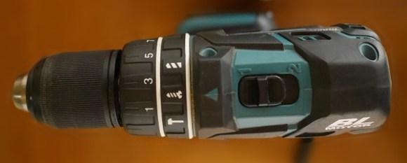 マキタHP470D-振動ドリル-上から見た