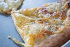 チーズピザをいただきましたが