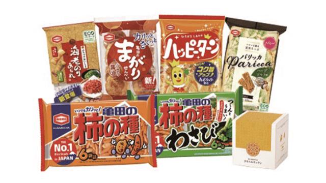 亀田製菓の株主優待