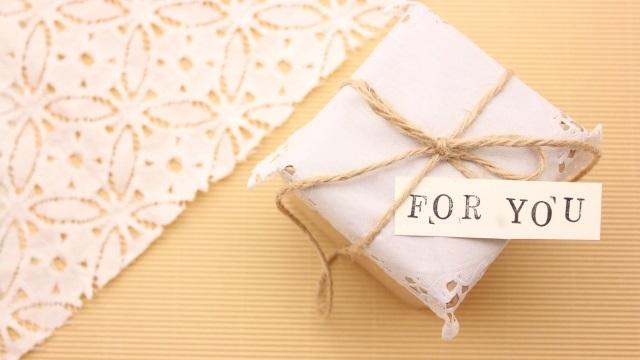 ギフトBOXと「FOR YOU」