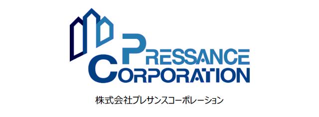 プレサンスコーポレーション-会社ロゴ