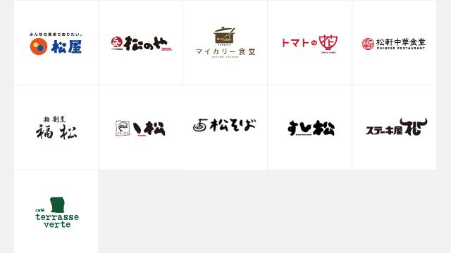 松屋フーズHD-ブランド