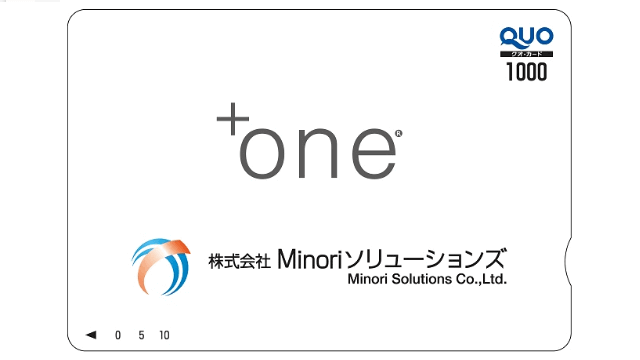 Minoriソリューションズの株主優待「QUOカード」