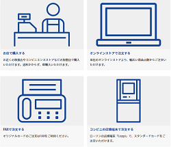 QUOカード公式サイト-4つの購入方法