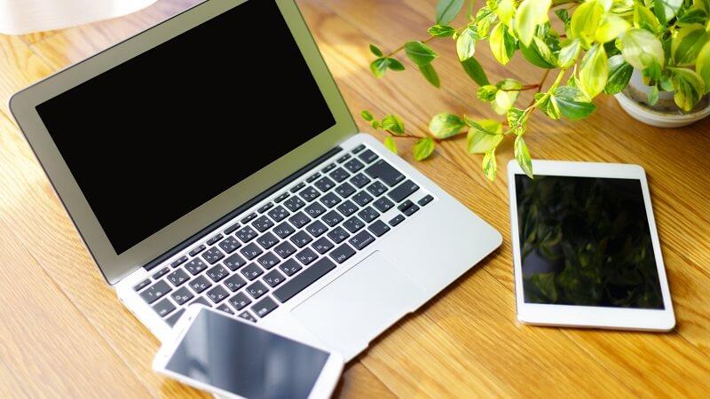 パソコンとスマホとタブレット