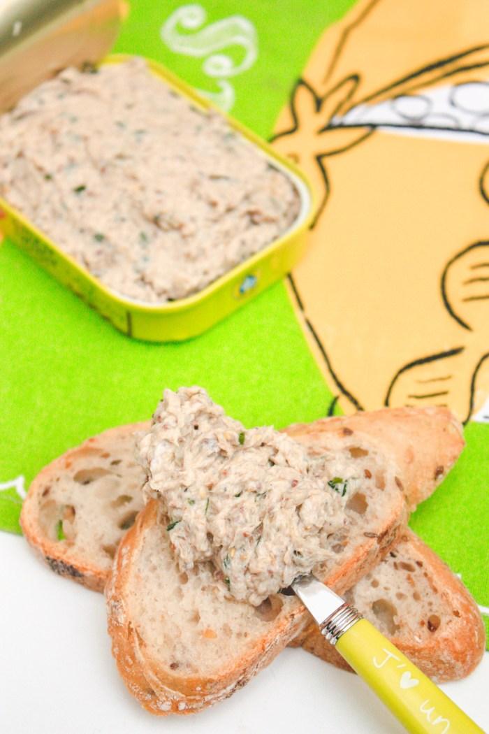 Rillettes De Sardines Moutarde : rillettes, sardines, moutarde, Rillettes, Sardines, Enjoy, Smile