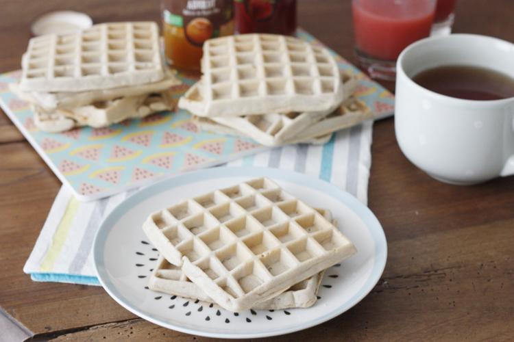 Sans gluten ni lactose, testez les gaufres à la farine de sarrasin pour un petit-dej de compet !