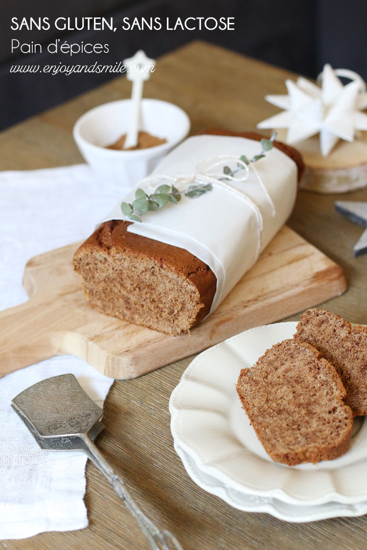 Un pain d'épices sans gluten ni lactose à tester sans modération en attendant Noël