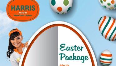 Happy Easter Package di Harris Hotels