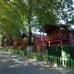 Hotel Mizo in Ohrid en de directe omgeving