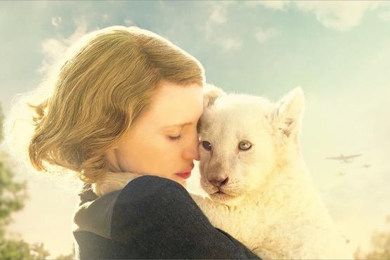 【口コミ・ネタバレ】映画『ユダヤ人を救った動物園~アントニーナが愛した命~』の感想・評価評判