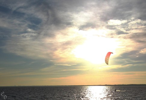 The Kite-Boarder