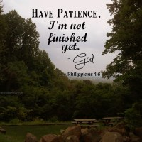 Daily Kiss:: Patience