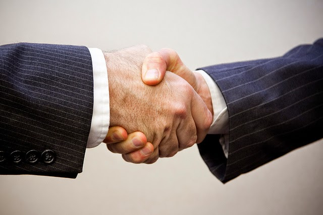 Image result for A firm handshake