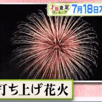7月18日プレバト俳句はタイトル戦・夏の「炎帝戦」予選・お題は「打ち上げ花火」