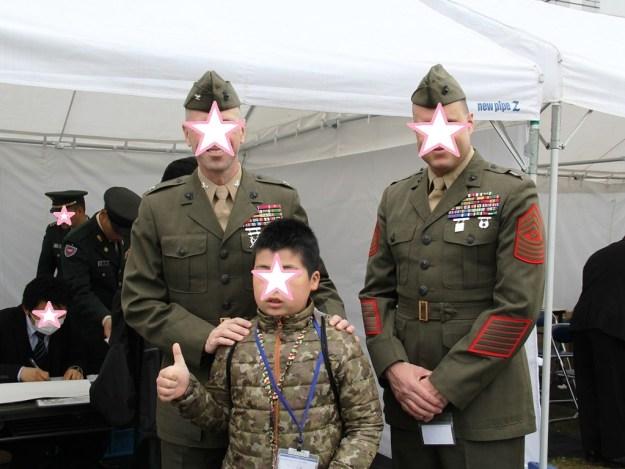 キャンプ富士 大佐 駒門駐屯地創立56周年
