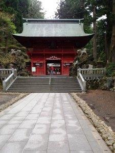 東富士浅間神社 鳥居