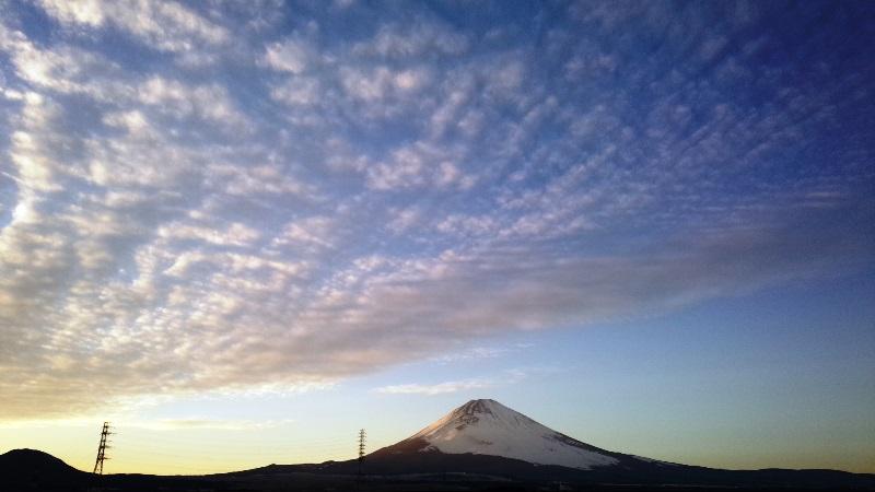 梅の屋 富士山 女富士 表富士
