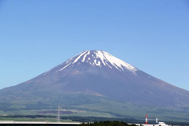 富士山 雪形 農馬 御殿場