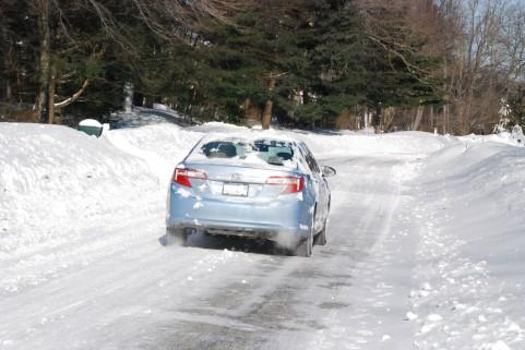 キャンカーでスキーに行くなら、やっぱり4WDが良いなぁ…。