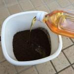 手作り油肥004_油注入