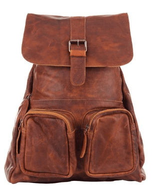 MAHI Leather Backpack Travel Accessory Bag