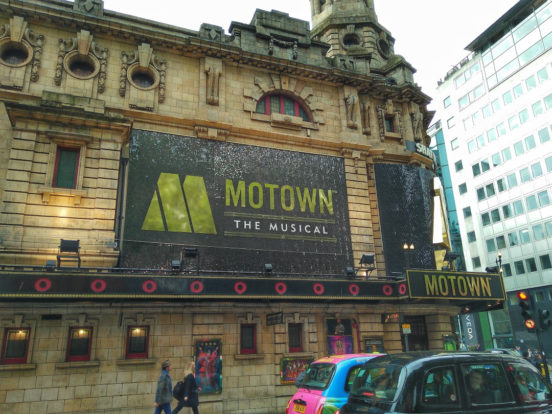Motown the musical London - Enjoy the Adventure blog