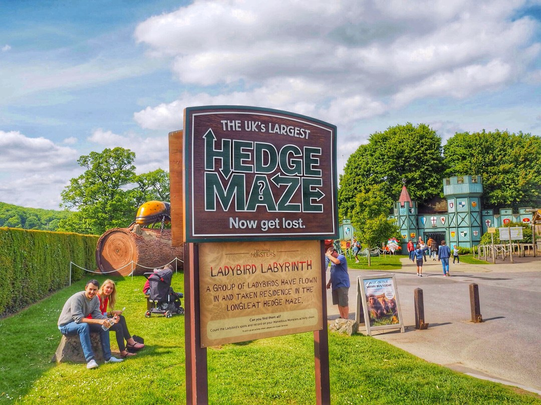 Longleat Safari Park Maze - Enjoy the Adventure travel blog