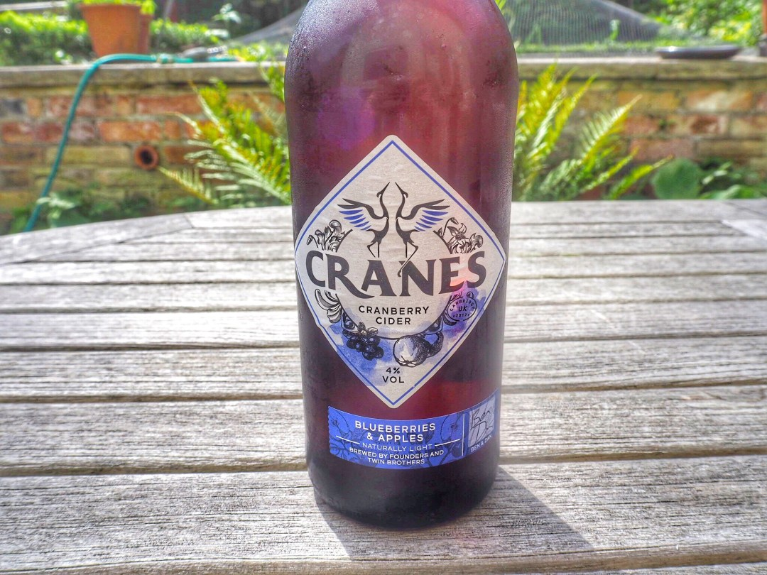 Blueberries & Apple Cranes Cider