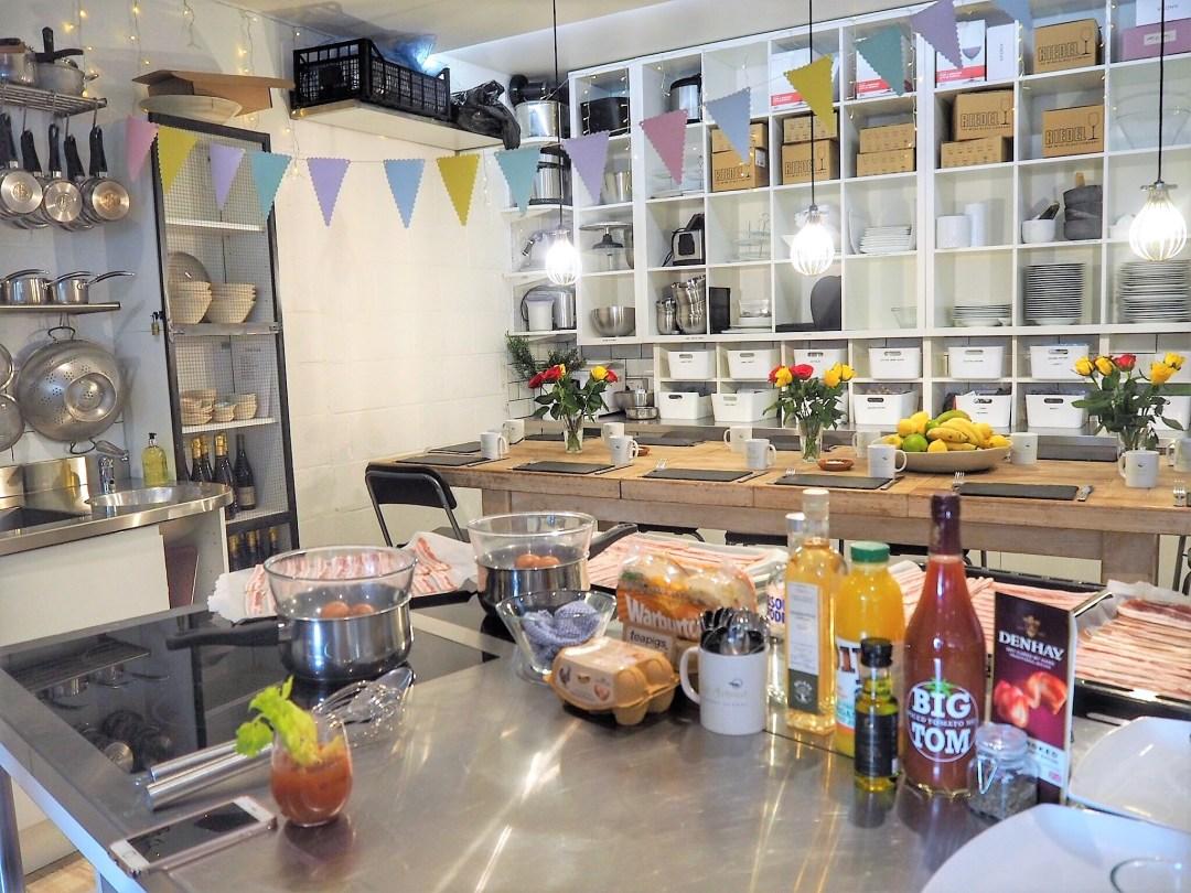 Avenue Cookery School Brunch London - Enjoy the Adventure Blog