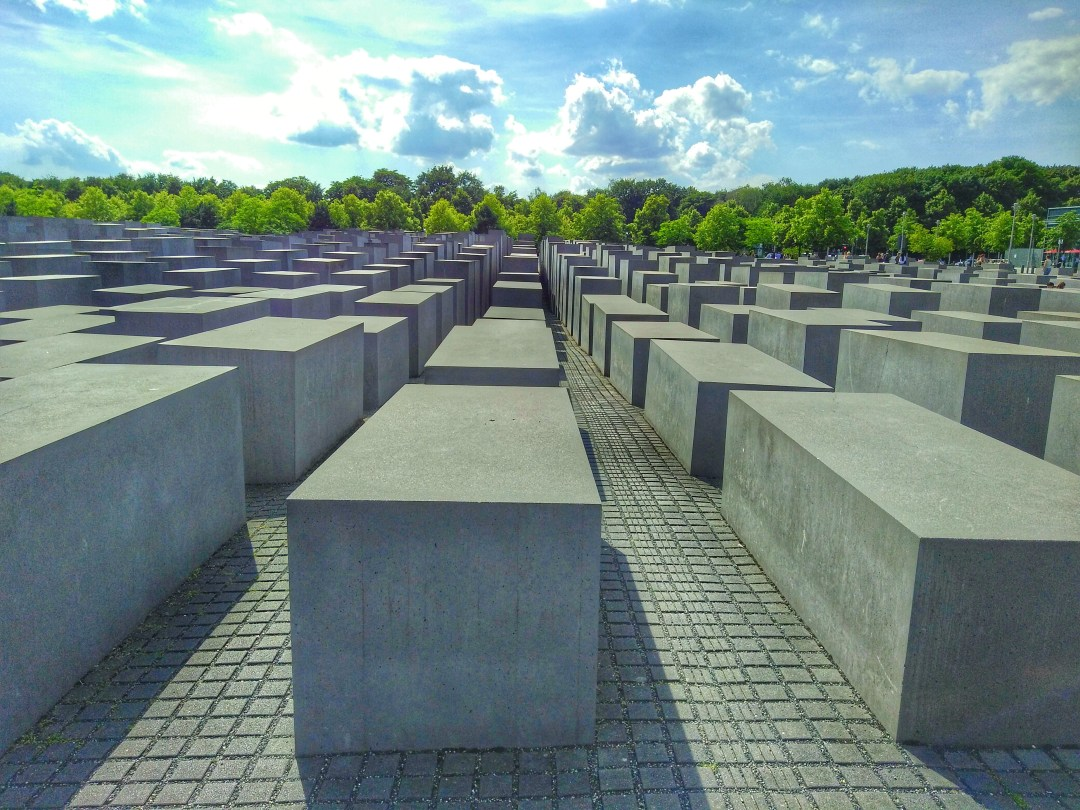 Memorial to the murdered Jews of Europe - Enjoy the Adventure travel blog