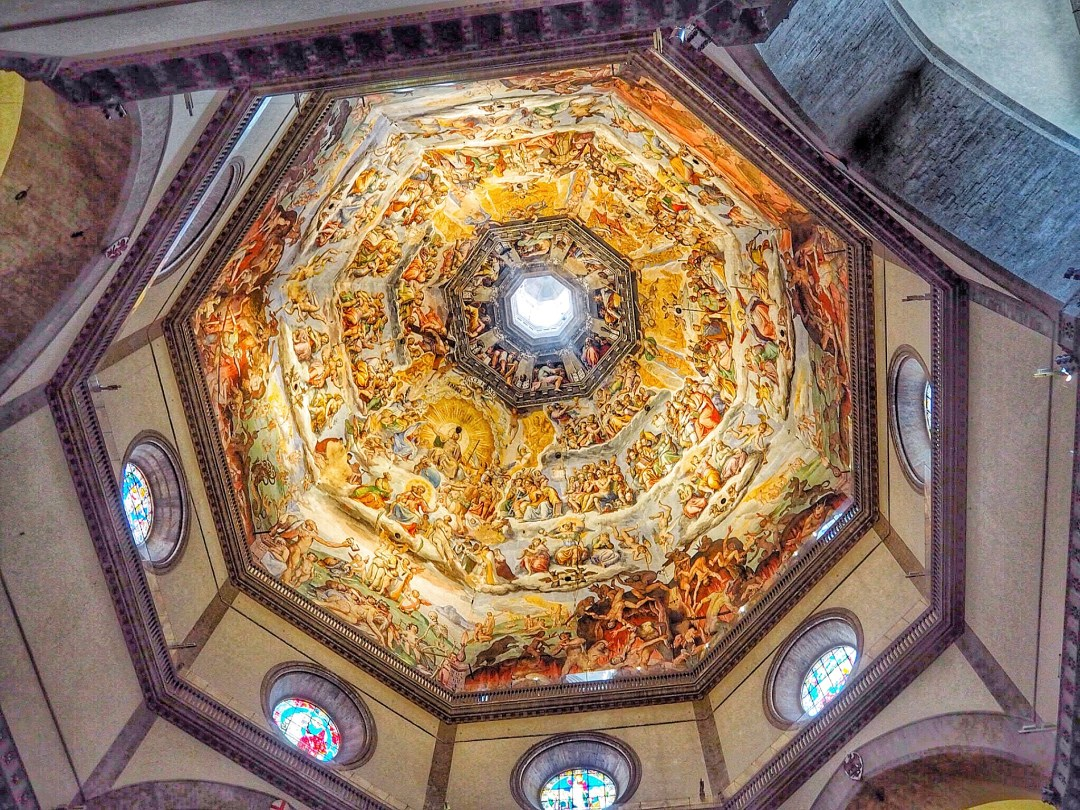 Ceiling Duomo Florence - Enjoy the Adventure
