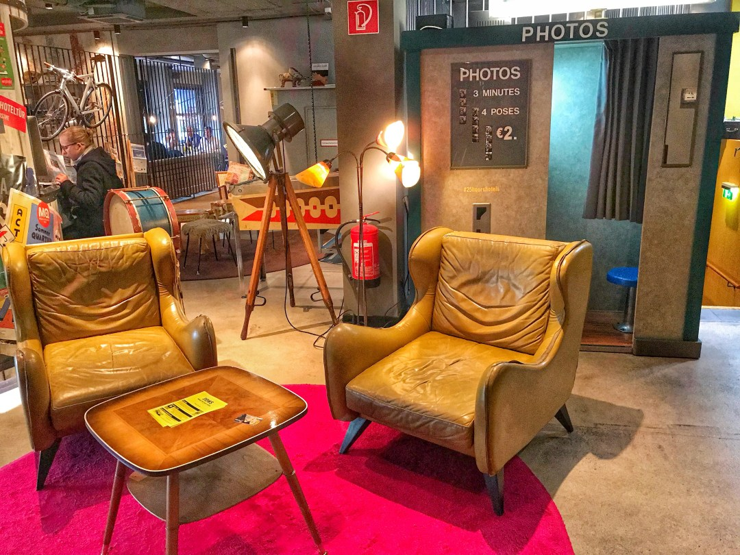 Quirky Circus Themed Hotel - 25hours Vienna at MuseumsQuartier Photo Booth
