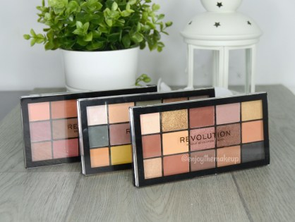 ¿Valen lo que cuestan? Paletas Reloaded de Revolution Beauty