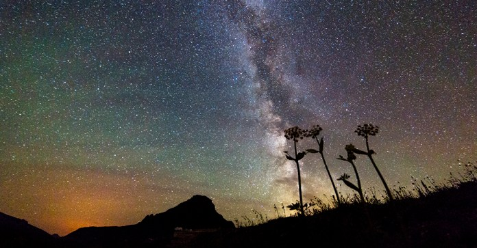 Glacier Night Sky stargazing