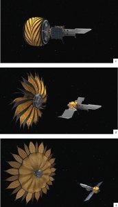 NASA Origami Jet Propulsion Lab Sunshade