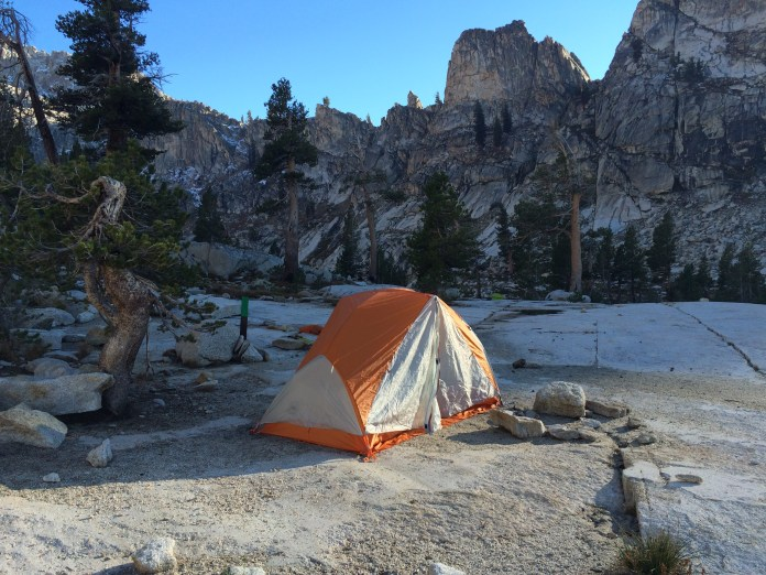 Camping tents on a budget