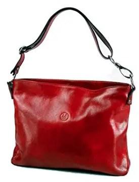 Michelangelo Assisi - Woman Shoulder Bag Azalea